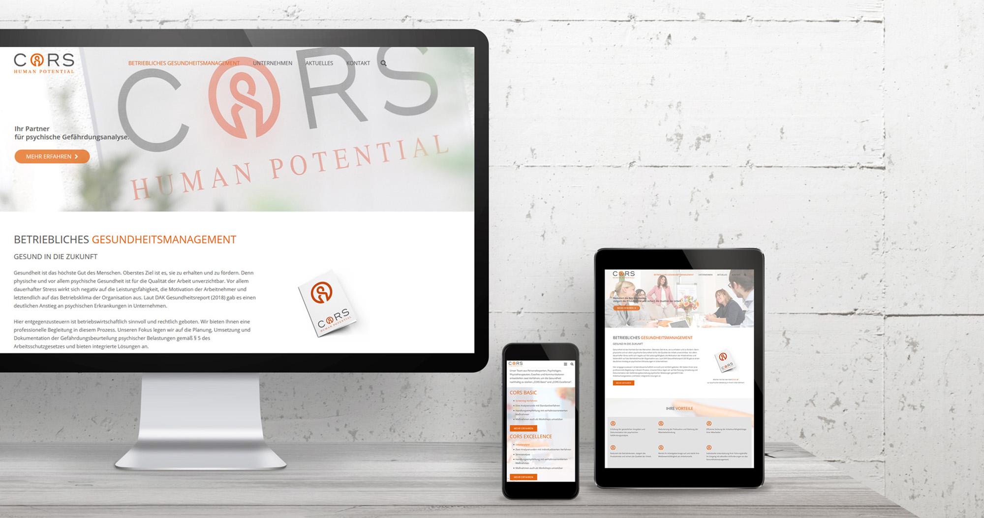 CORS Human Potential GmbH vorher