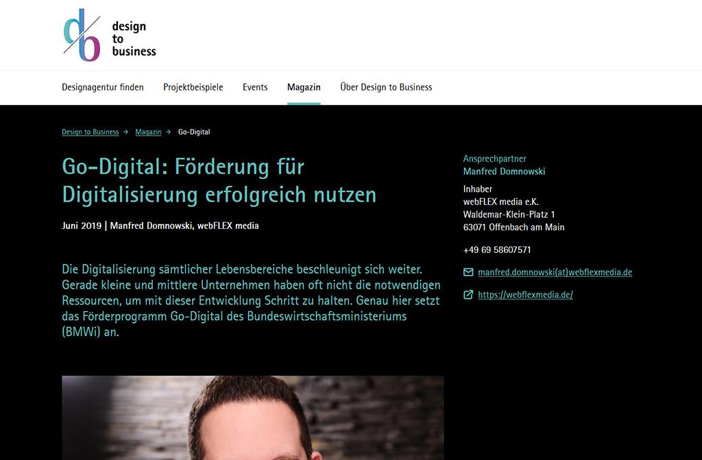 Go-Digital: Förderung für Digitalisierung erfolgreich nutzen