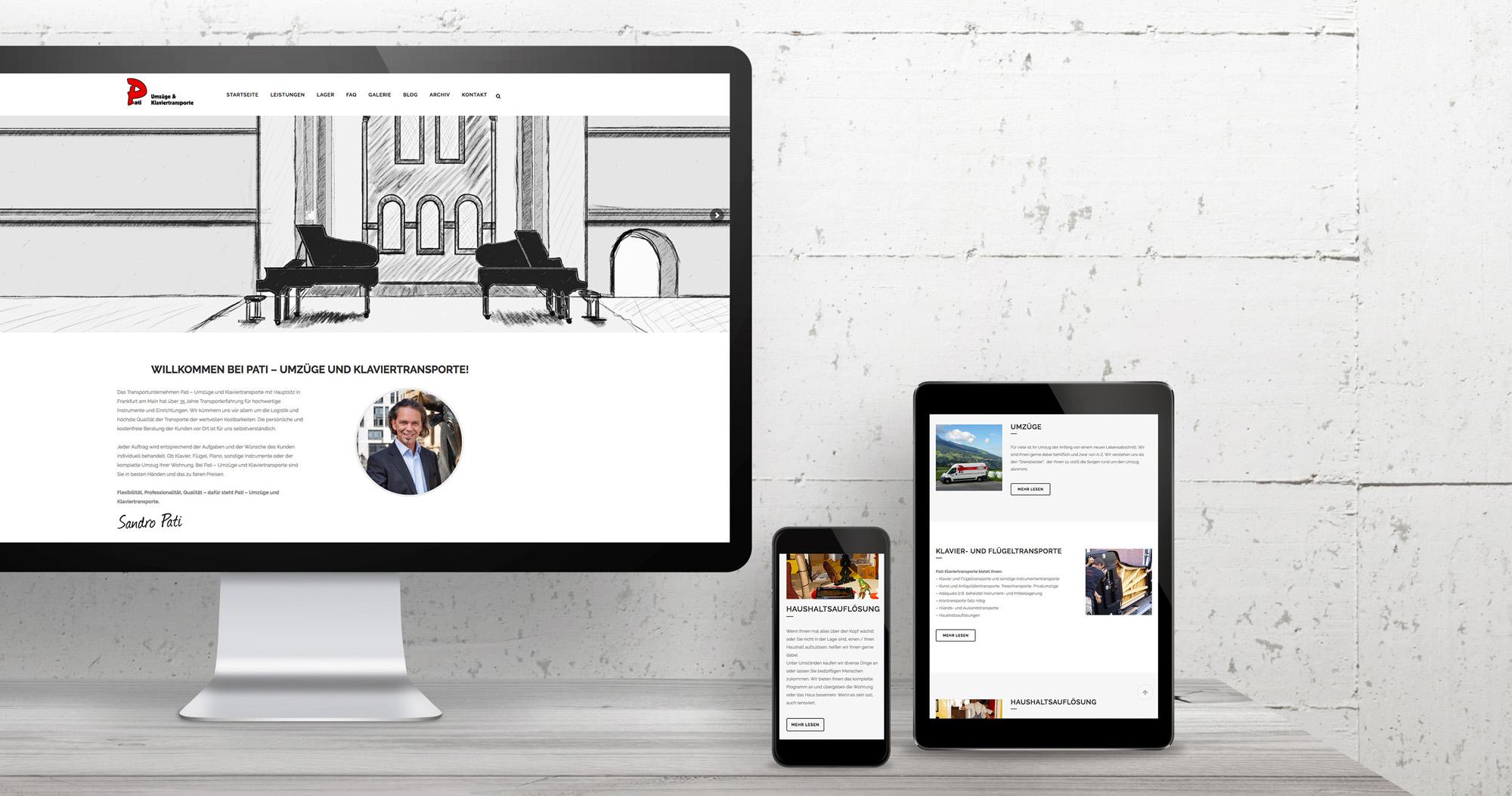 Piano Pati Internetseite