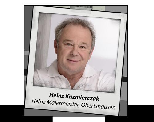 Heinz Kazmierczak, Heinz Malermeister