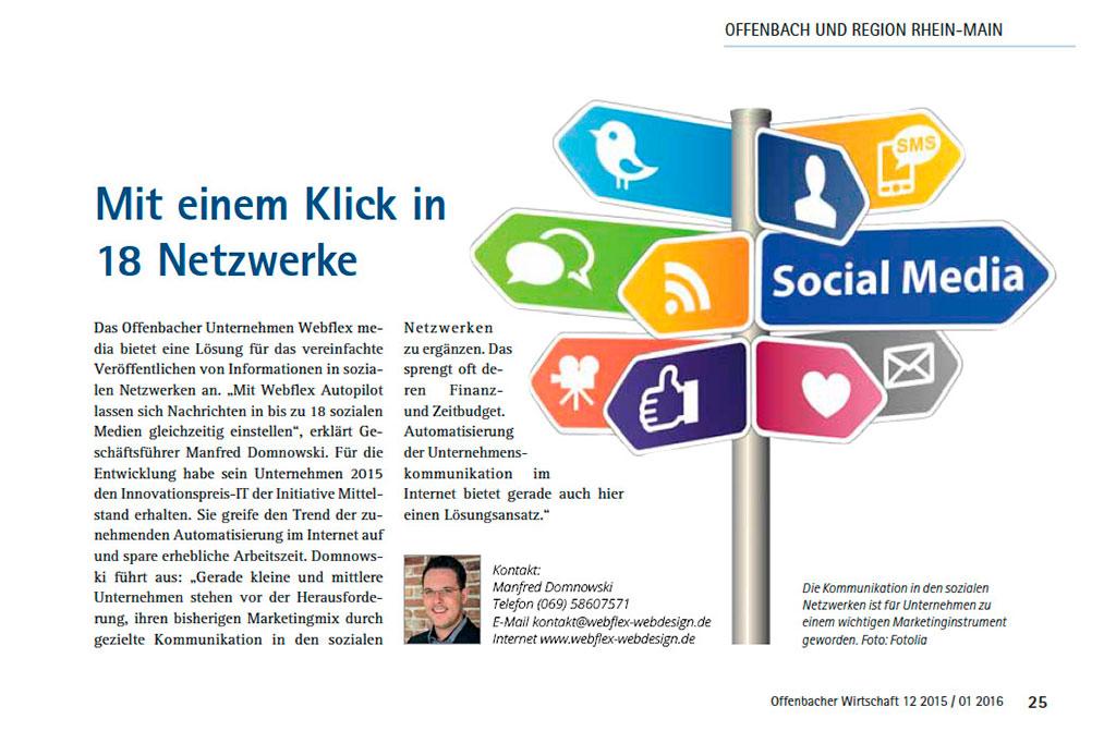 Social Media Kommunikation webflex